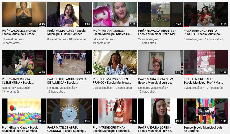 Professores de Guaraí utilizam canal no Youtube para interagir com alunos em meio a Covid-19
