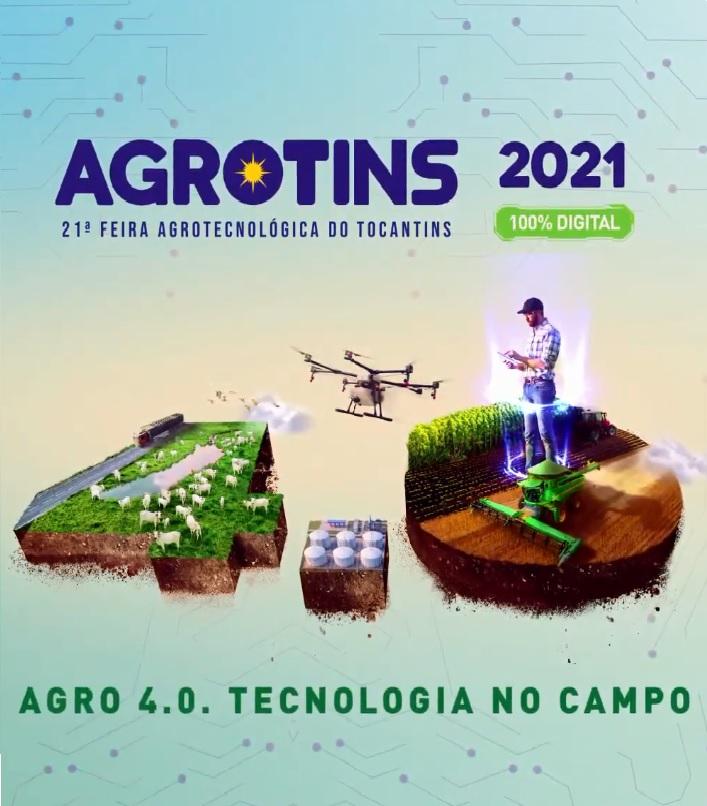 Pelo 2º ano seguido, Agrotins terá programação 100% digital; evento acontece de 15 a 18/06