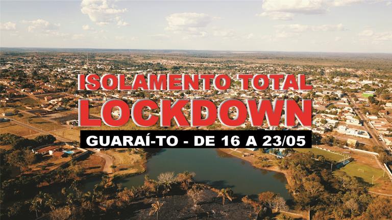 """Apesar do """"lockdown"""", mais de 50 serviços essenciais podem ser mantidos em Guaraí"""