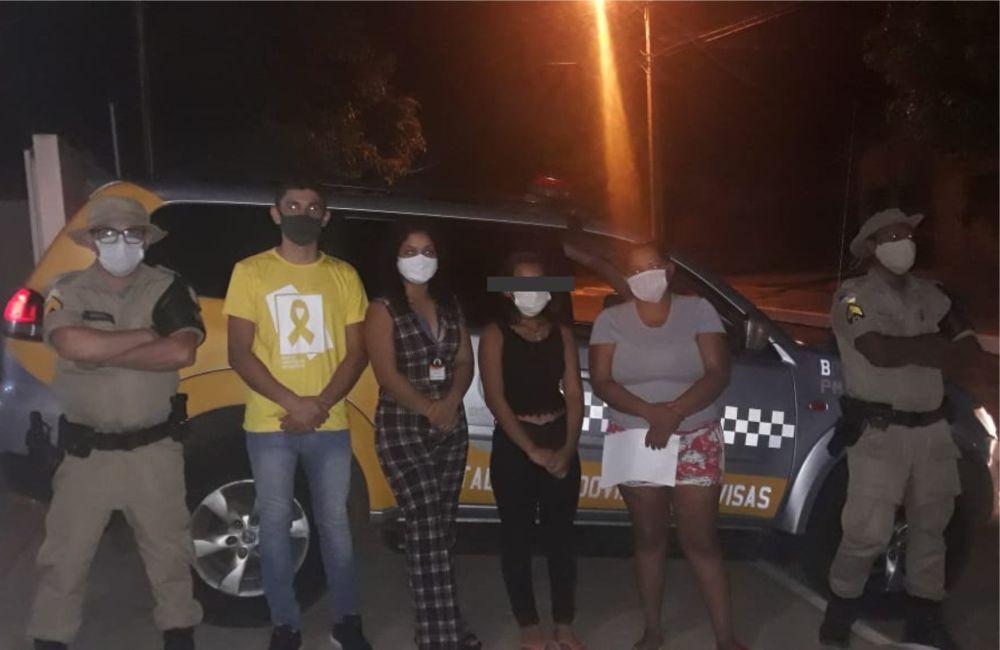 Adolescente que fugiu de casa na cidade de Lajeado é resgatada ao passar por Guaraí