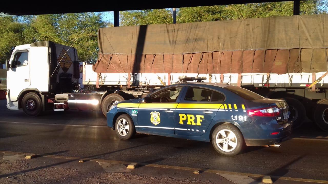 PRF de Guaraí recupera carreta Volvo roubada no interior de São Paulo há quase 18 anos