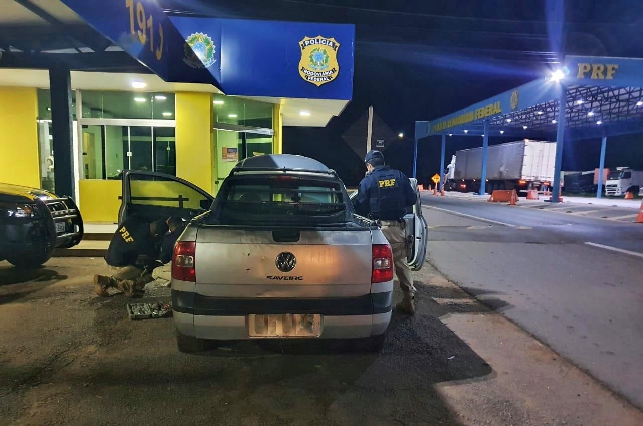 PRF de Guaraí recupera Saveiro roubada há mais de 7 anos no município de Praia Grande (SP)