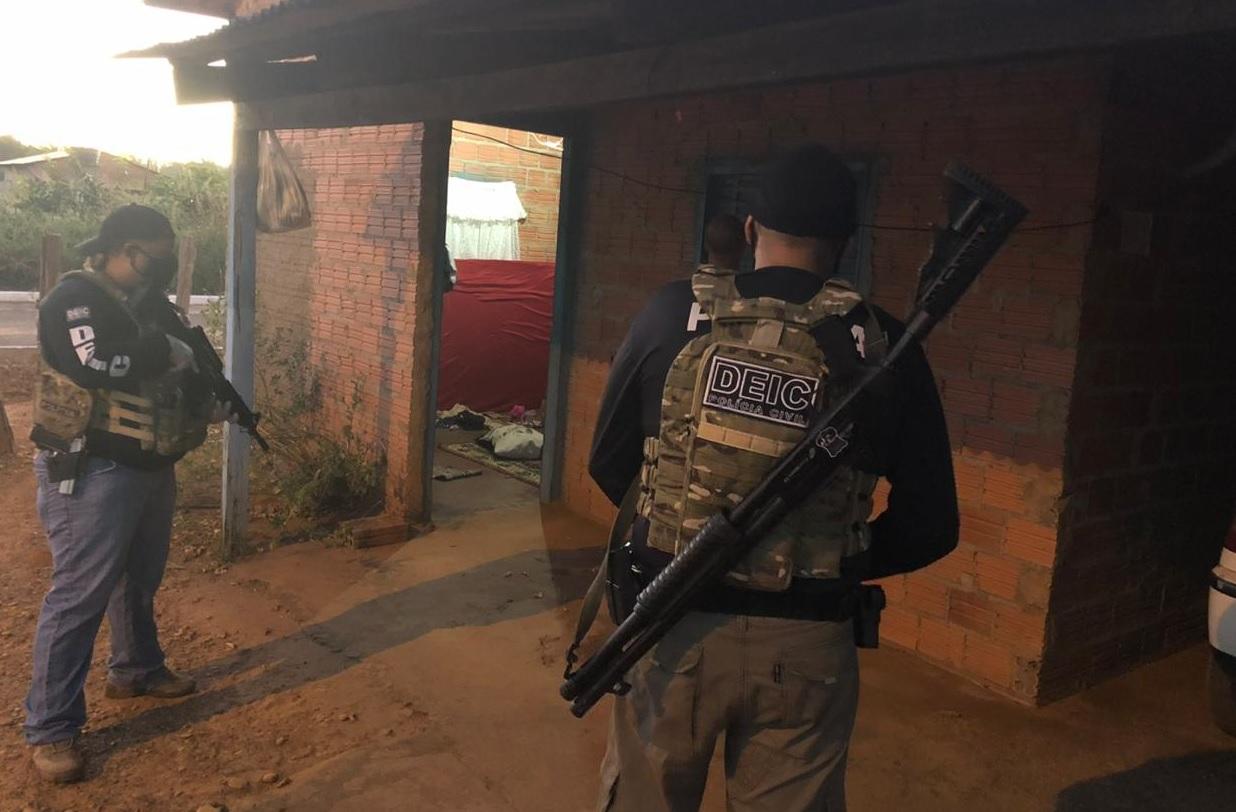 Suspeitos de dar apoio a quadrilha durante ação criminosa em Pequizeiro são presos em Guaraí