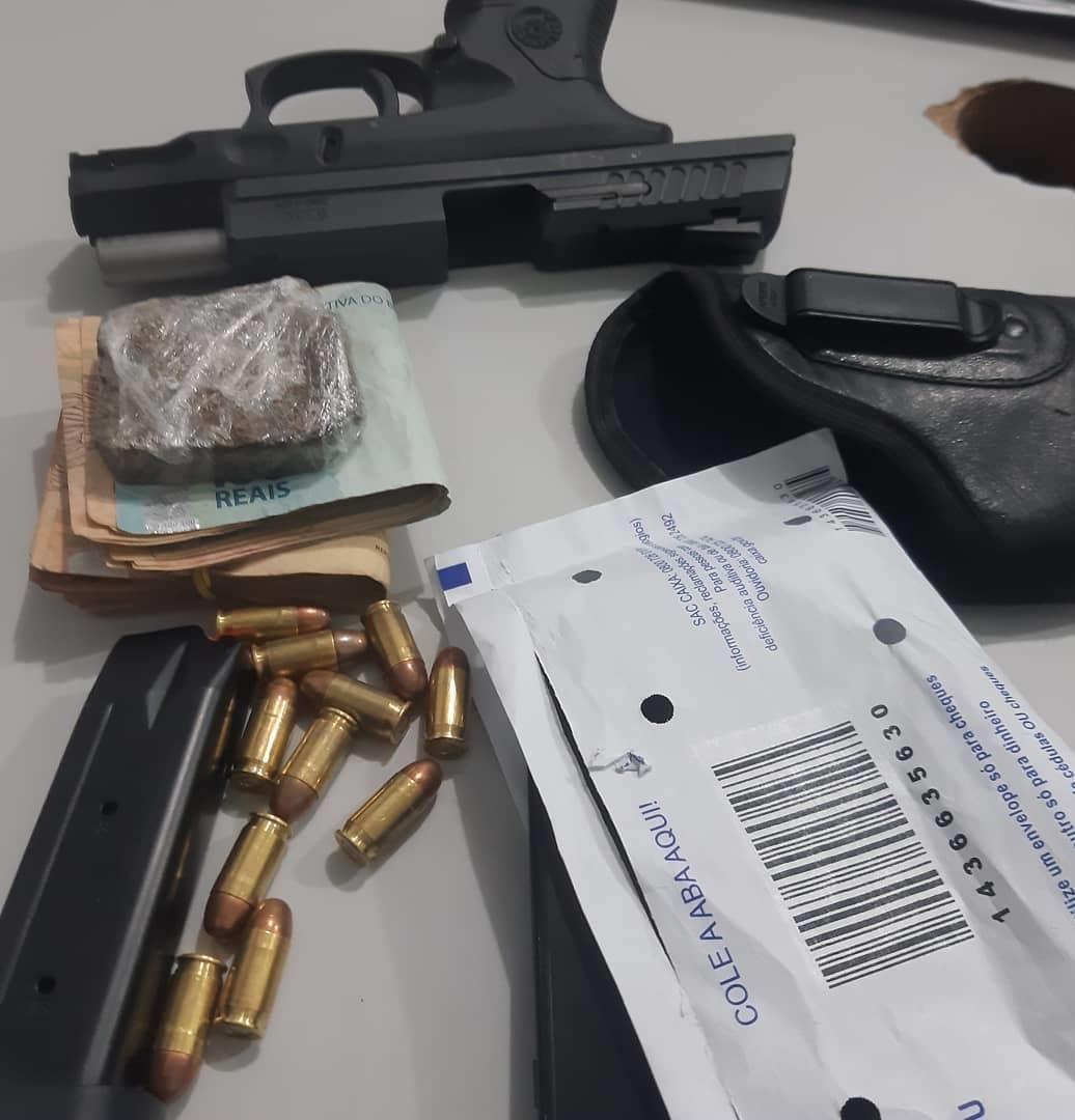 Suspeitos de envolvimento com roubo de joalheria em Guaraí são presos pela ROTAM na capital Palmas