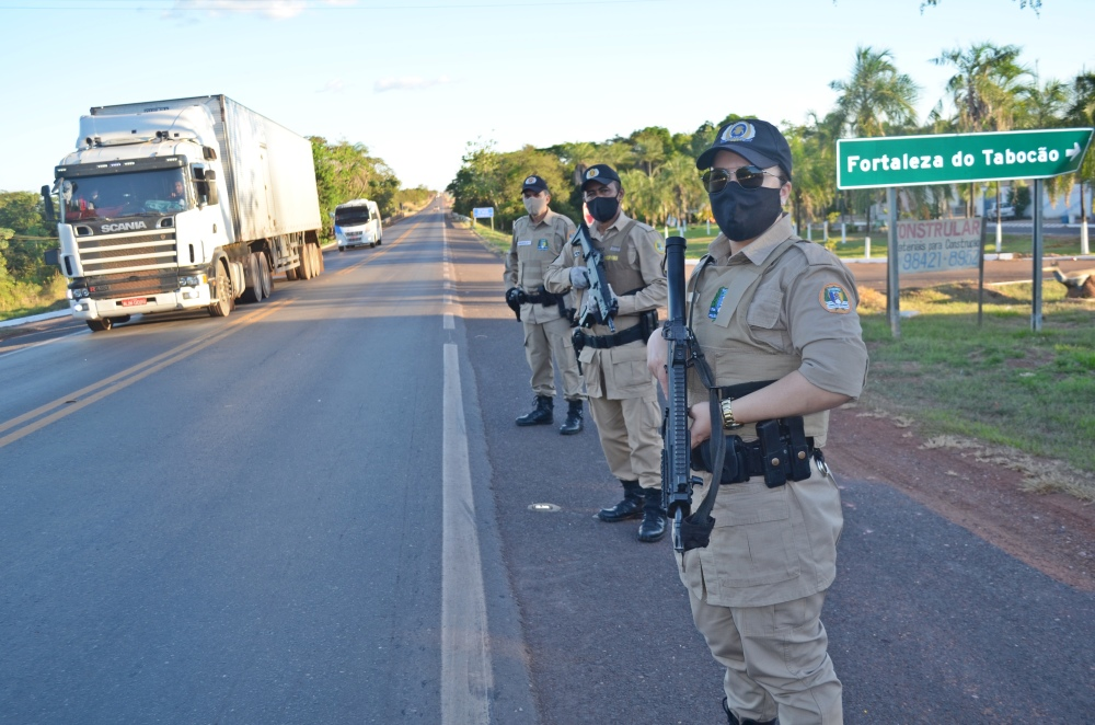 Batalhão Guará da PM/TO realiza operação preventiva em Tabocão, Kennedy e Guaraí