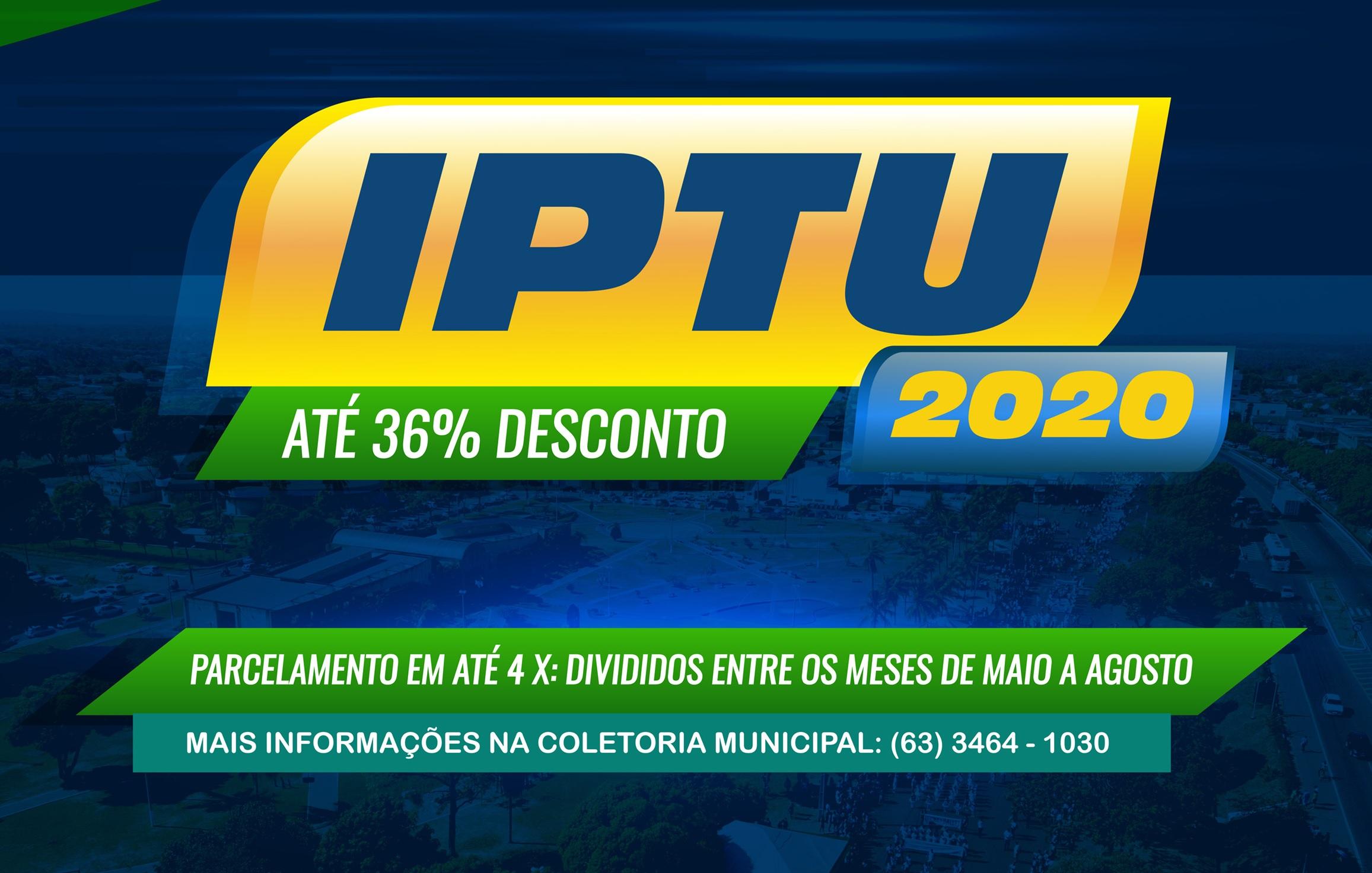 Contribuinte de Guaraí deve solicitar parcelamento em até 4 vezes do IPTU no mês de maio