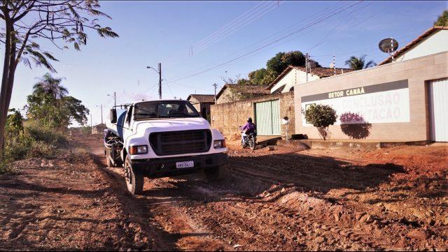 Após 20 anos, obras de pavimentação no Setor Canaã são finalmente iniciadas em Guaraí