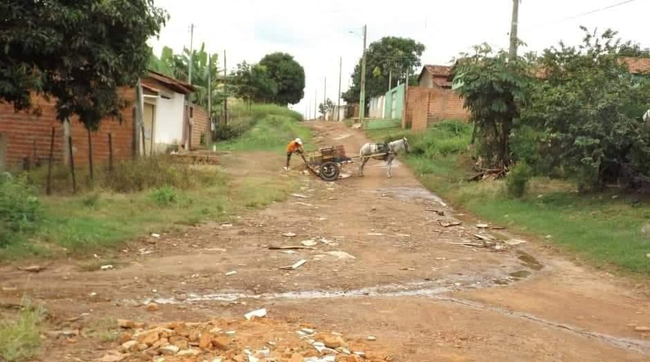 Caixa disponibiliza 1ª parcela de recurso para obra de pavimentação no Setor Canaã