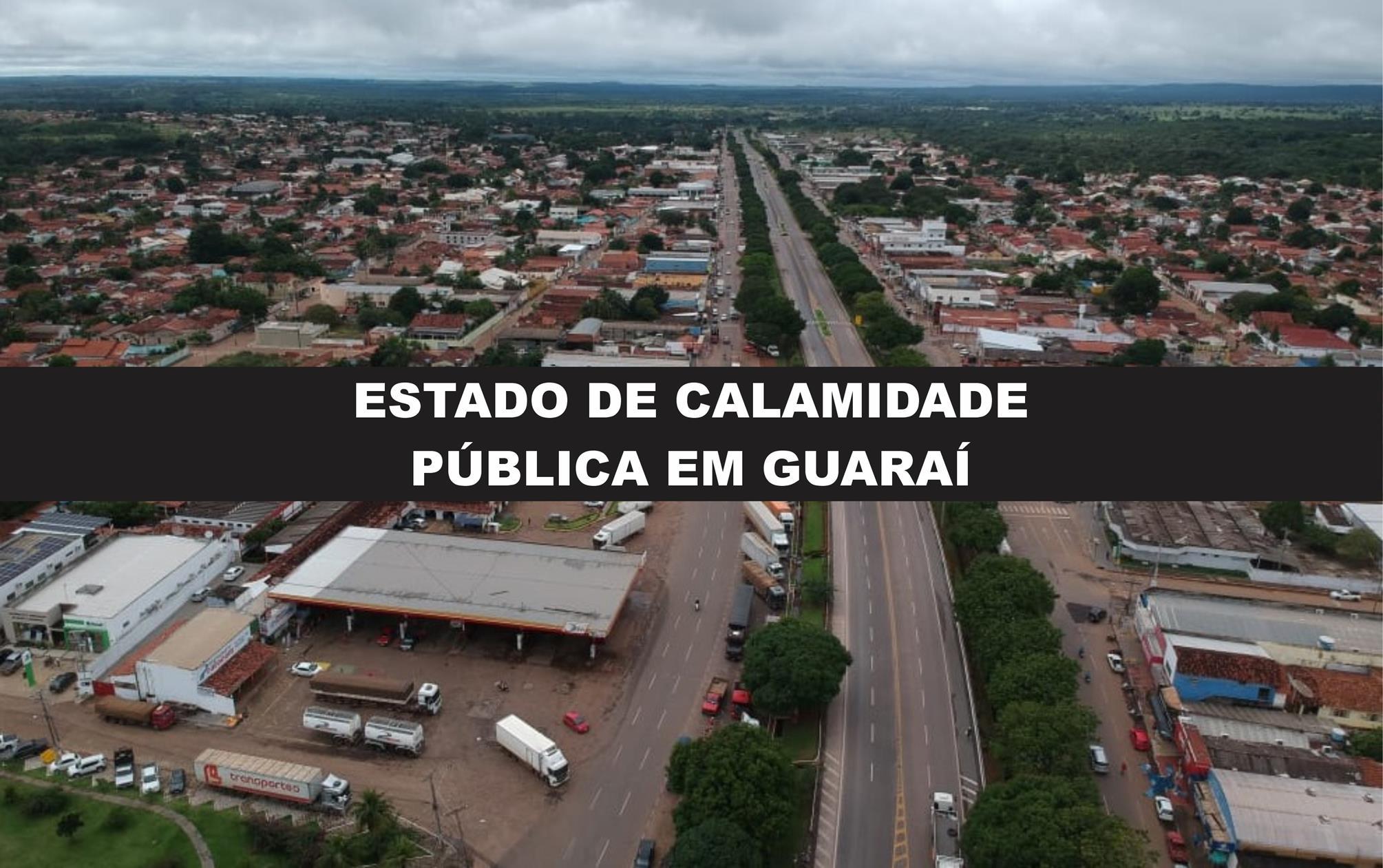 """Com 10 casos confirmados de Covid-19, Guaraí declara """"estado de calamidade pública"""""""