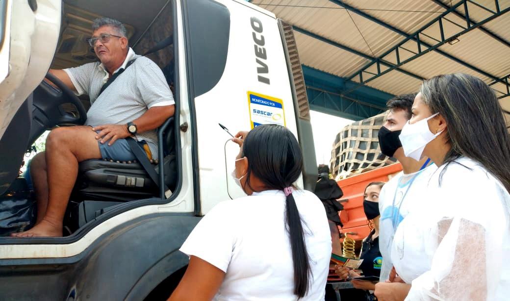 Ação integrada atende motoristas que trafegam pelo trecho urbano da BR-153 em Guaraí