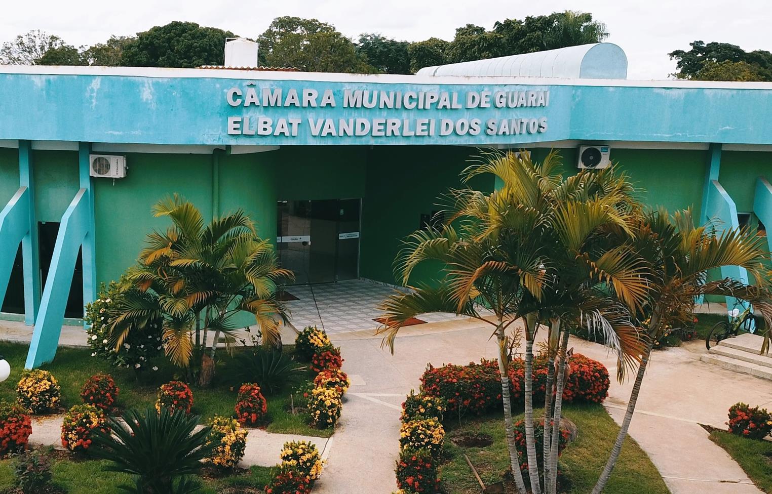 Câmara de Guaraí adia retomada das sessões presenciais para realizar testes de Covid-19