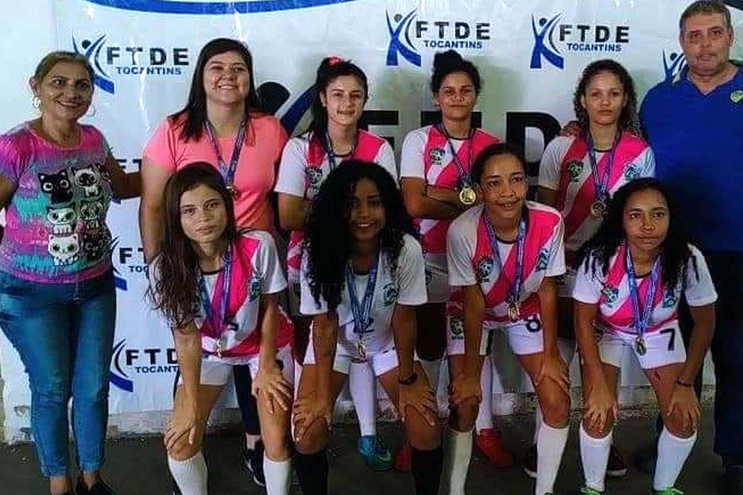Guaraí conquista Escolar de Futsal Feminino e vai representar o Tocantins em torneio nacional