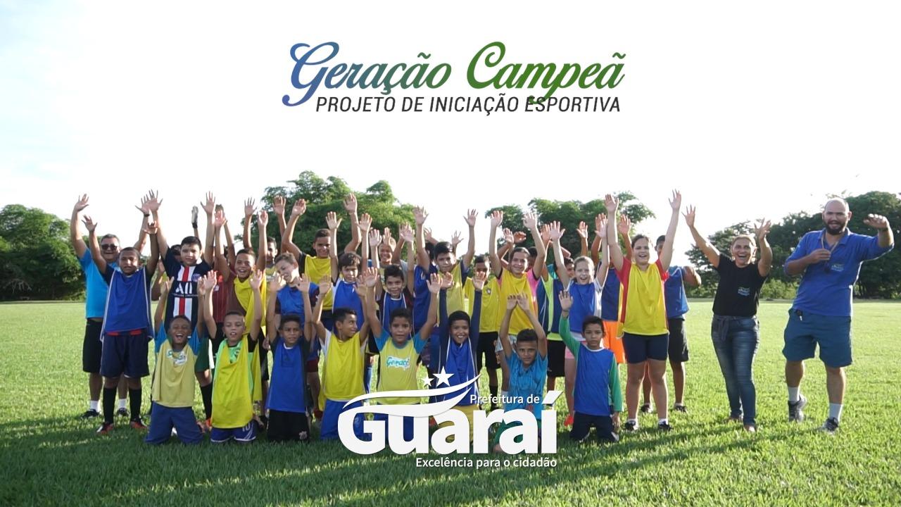Projeto de iniciação esportiva promovido em Guaraí estimula habilidades e revela novos talentos
