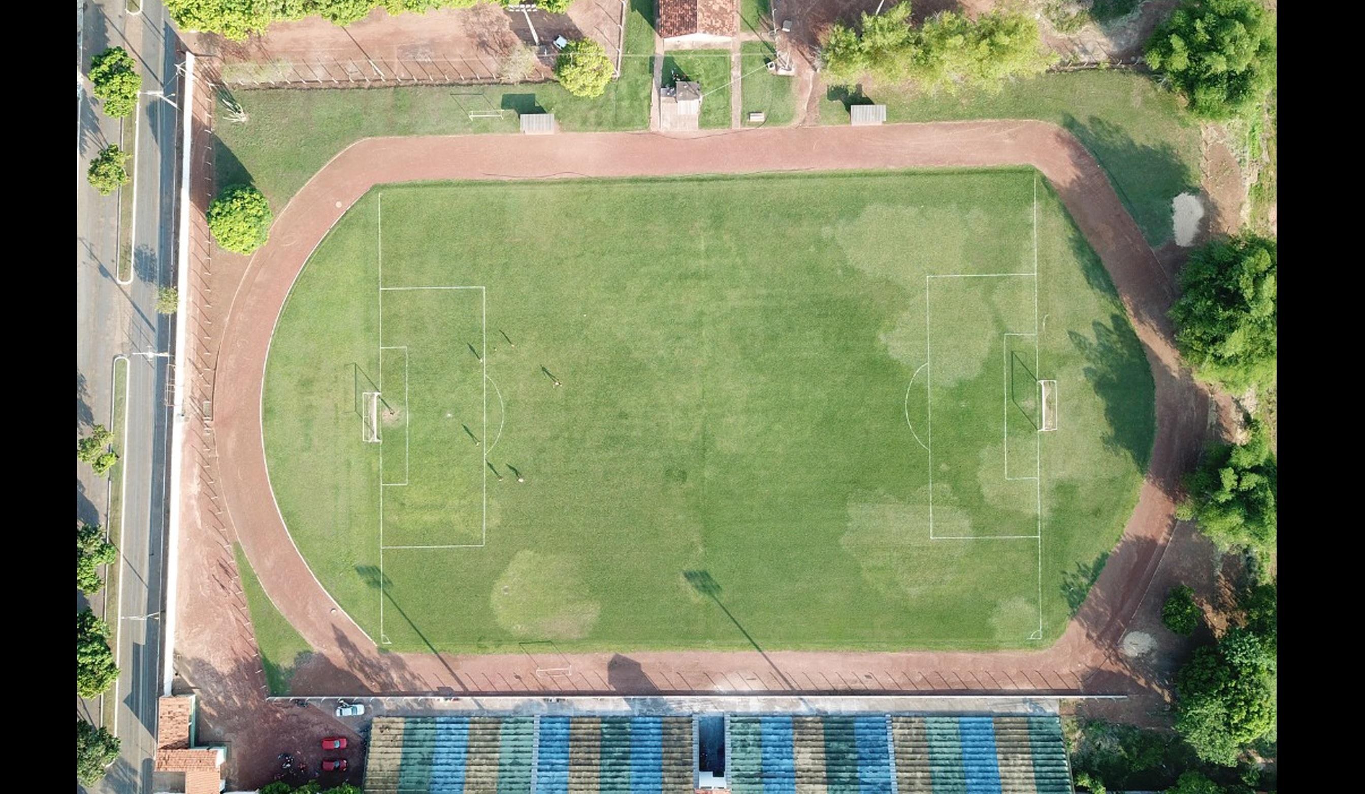 Foto: Divulgação/Prefeitura de Guaraí - Casa do único time profissional da cidade, o Estádio Delfinão vem passando por uma ampla reforma e ampliação, fruto de um investimento da Prefeitura de Guaraí.