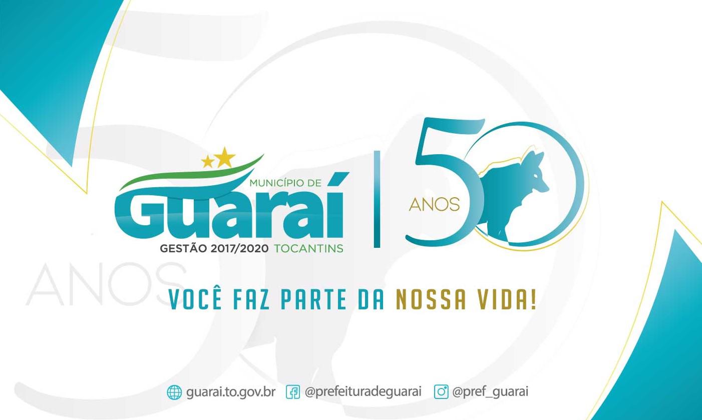 Prefeitura de Guaraí suspende programação do 50º aniversário e todos os seus eventos públicos