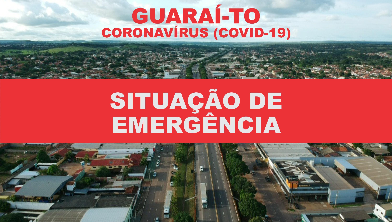 """Decretada """"situação de emergência"""" em Guaraí; medida vale por tempo indeterminado"""